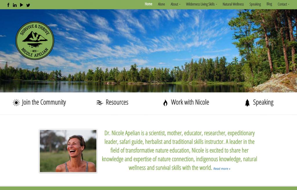 nicole apelian website home